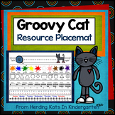 Groovy Cat Themed Placemat