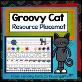 Groovy Cat Themed Resource Mats
