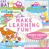 Cat and Bat Bundle - Equal Groups & Sharing
