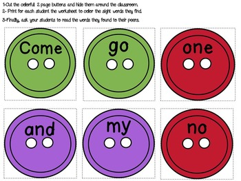 Cat and Buttons (Interactive literacy lesson)