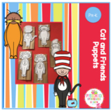 Cat and Friends Brown Bag Puppets