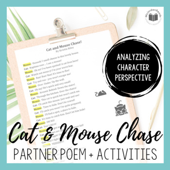 """Cat and Mouse Chase!"" {Partner Perspective Poem}"
