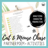 """""""Cat and Mouse Chase!"""" {Partner Perspective Poem}"""