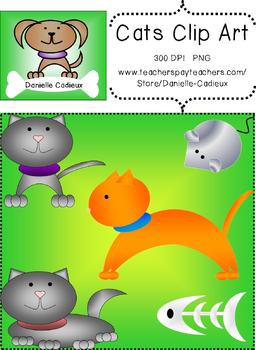 Cat and Mouse Clip Art