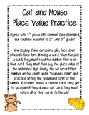 Cat and Mouse Place Value Game!
