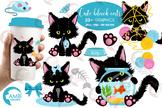 Cat clipart, Kitten Clipart, cute kitten clipart AMB-2649