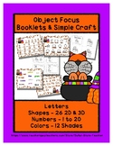 Cat in a Cauldron - Basics - Booklets & Craft - Preschool Shapes Colors Letters