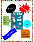 Cat in he Hat Book Activities