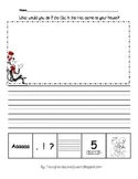 Cat in the Hat 5 Star Writing