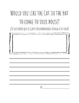 ESL Cat in the Hat Bilingual Worksheet