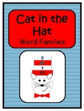 Cat in the Hat { Dr. Seuss Word Family Activity }