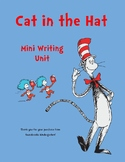 Cat in the Hat Mini Writing Unit
