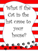 Cat in the Hat Narrative Writing