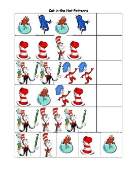 Cat in the Hat Patterns