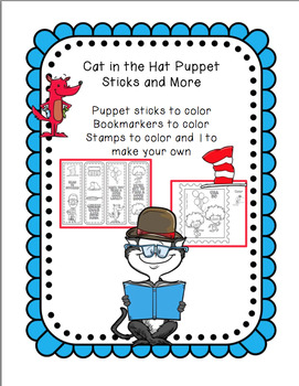 Cat in the Hat Puppet Sticks and More