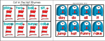 Cat in the Hat Rhyme Pack