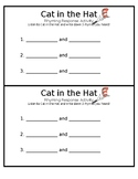Cat in the Hat Rhyming Response Center