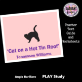 Cat on a Hot Tin Roof - Tennessee Williams Literary Snapshot Radiant Heart