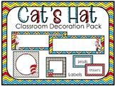 Cat's Hat Class Decoration Pack