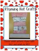 Cat's Hat Rhyming Craft