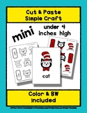 Cat with a Hat - Cut & Paste Craft - Mini Craftivity for P