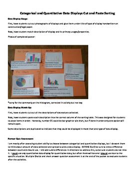 Catagorical and Quantitative Data Displays