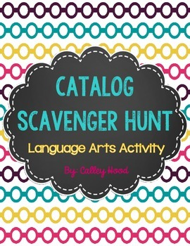 Catalog Scavenger Hunt