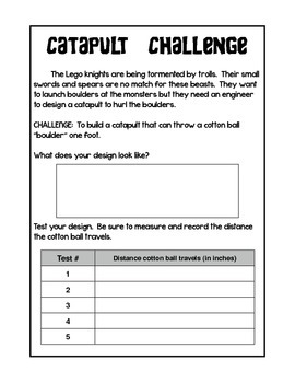 Catapult Challenge