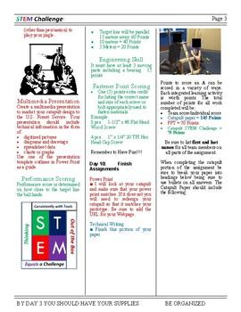 Catapult STEM Challenge- 8th grade