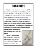 Catapults Information