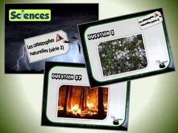 Catastrophes naturelles, série 2 (cartes à tâches) (Sciences)