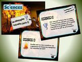 Catastrophes naturelles, série 3 (cartes à tâches) (Sciences)