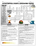 Catastrophic Events Crossword Puzzle