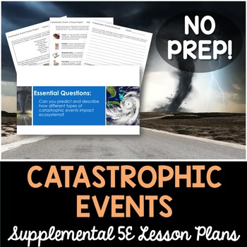 Catastrophic Events - Supplemental Lesson - No Lab