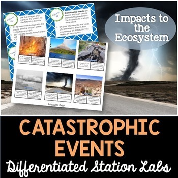 Catastrophic Events and Natural Disasters Student-Led Station Lab