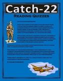 Catch-22 Reading Quizzes