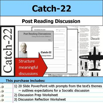 Catch-22 - Socratic Method - Post Reading Discussions