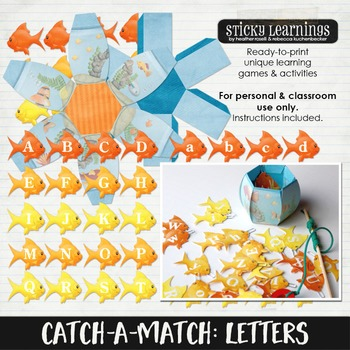 Catch-A-Match - Letters