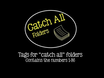 Catch All Folder Tags