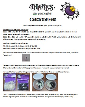 Catch Flies Addition Game