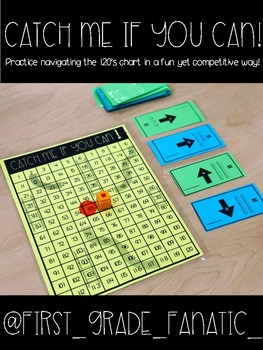 Catch Me If You Can! 120 Chart Game!