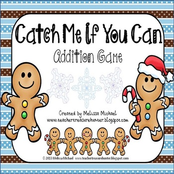 Catch Me If You Can ~ A Gingerbread Addition Game