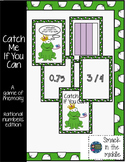 Catch Me If You Can : A game of memory for rational numbers