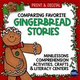 Gingerbread Man Activities Teaching Slides Centers Crafts + Digital