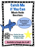 Catch Me if You Can Movie Guide Questions