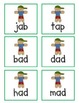 Catch That Cookie! Gingerbread Man CVC Word Game