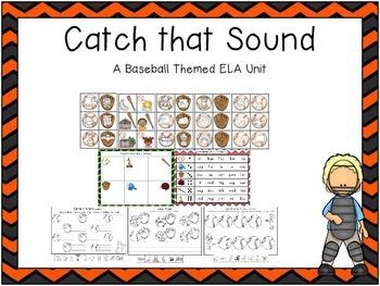 Catch That Sound {Baseball ELA Unit}