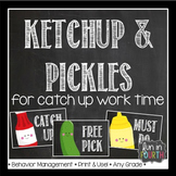 Ketchup, Pickles and Must Do's - Catch Up Work Strategy