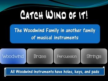 Catch Wind of it! - Identifying Woodwind Instruments