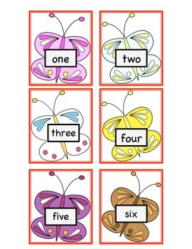 Catch the Butterfly Math